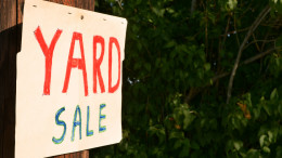 how to profit from a yard sale