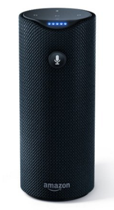 Clear photo of the Amazon Tap